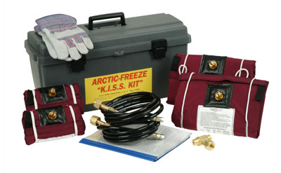 PipeManProducts.com Arctic Freeze CO2 Pipe Freeze System
