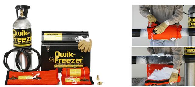 arctic spray pipe freezer instructions